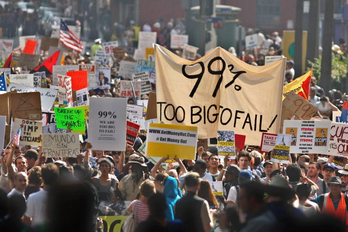 US Occupy Wall Street Demonstration
